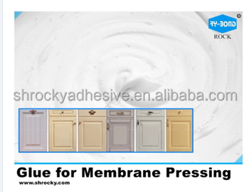 Vacuum membrane press usage PU water based glue