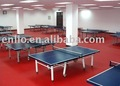 Table-tennis court flooring