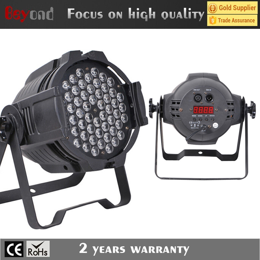professional stage light led 3w RGBW par can light for sale