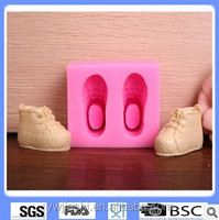 Wholesale baby shoes fondant mold for cake, chocolate, decorating