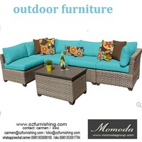 MMD010 4PCS Outdoor Patio PE Wicker Rattan Sofa Set Deck Couch Sectional Furniture NEW