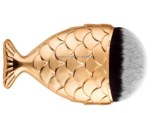 Top quality Mermaid carve and Chubby Mermaid Brush makeup tool