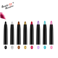 private label hot selling 12 colors eye liner eyeshadow waterproof longlasting glitter colorful magic eyeliner pen