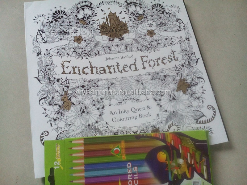 Coloring Book Secret Garden : Enchanted forest mandala coloring book secret garden part 2 buy