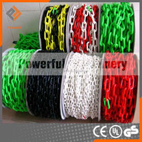 Colorcul worksite safety plastic chain