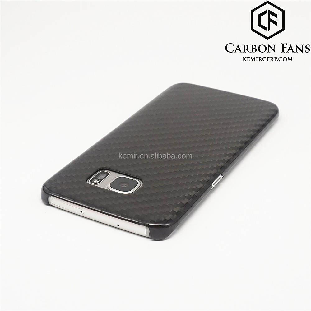 100% real Carbon Fibre mobile phone back cover for Samsung galaxy carbon fiber S7 case,Accept customized order