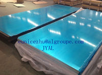 plastic film protection aluminum sheet with high quality and competitive price