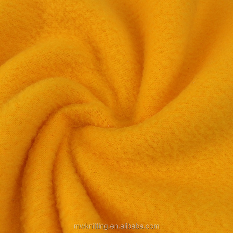 Custom Heavy Polar Fleece Fabric with Thick High pile