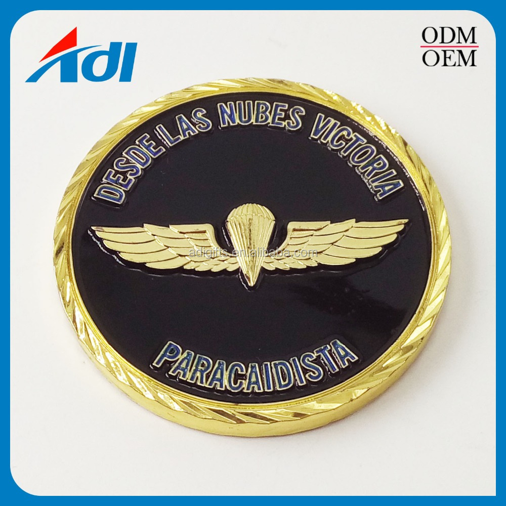 hot selling commemorative gold eagle replica metal coins
