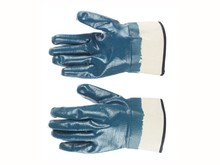 "11"" <strong>Safety</strong> Cuff Heavy Duty Nitrile Coated Glove"