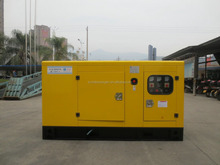 Low noise diesel generator 30kva silent power plant