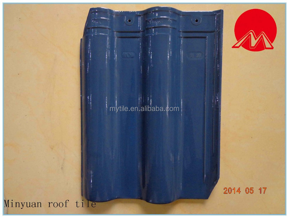 New design high quality ceramic roof tile for home decoration
