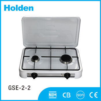 GSE-2-2 Made in china N.G.or L.P.G stainless steel portable natural gas stove drip pans