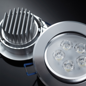 Led downlight housing 7w led round profile downlight