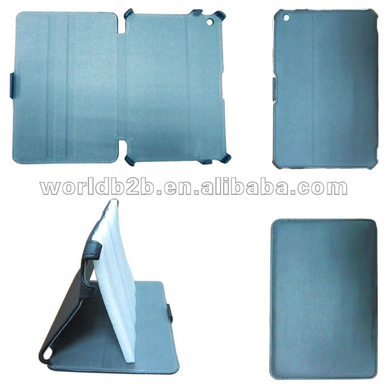 Multi-Angle Adjustable Stand Leather hard Case For ipad mini case