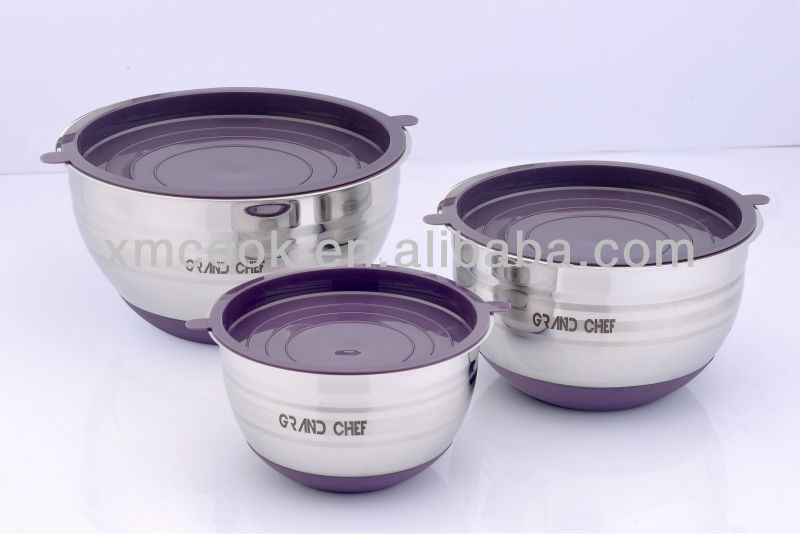 Stainless steel mixing bowl (XM-1036BS)