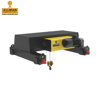 ALLMAN 10ton 12.5ton 20ton Europe model double girder overhead crane using wire rope hoist
