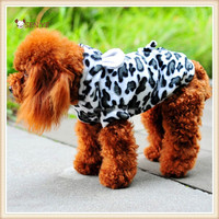 2015 wholesale fashion cool comfortable soft suitable for the autumn and winter wear being a cow dog clothing