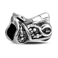 BEAUTY CHARM sterling silver beads 925 Sterling Silve motocyle inspirational series 925