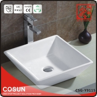 Top Quality Vanity Top Cloakroom Fitted Washbasin