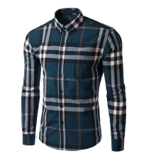 Wholesale chinese collar mens buttons shirts casual brand name men slim fit dress shirts