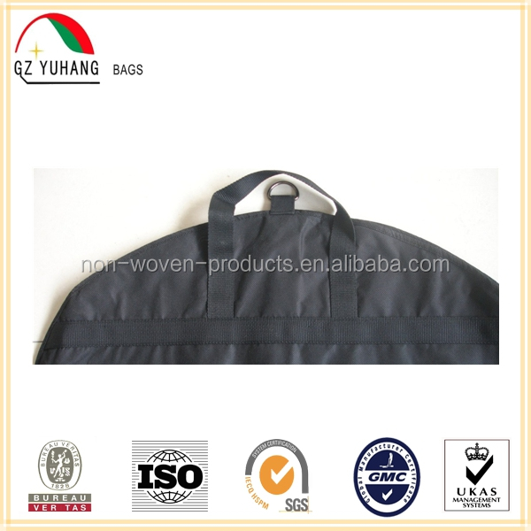 2016 High quality wedding dress woven garment bags wholesale