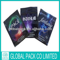 Stand up Herbal Incense Pouch Ziplock Herbal Packaging Bags