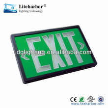self-luminous tritium exit sign