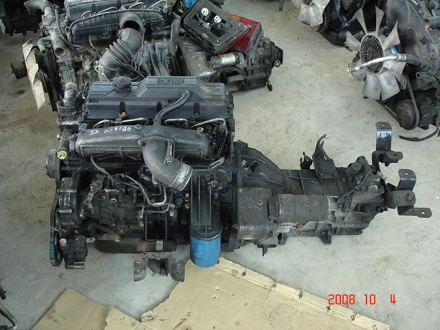 engine J2 2. 7-Kia Bongo / Frontier engine