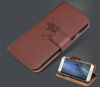 New Stylish imitation leather Flip Stand phone case for samsung S7 edge with card slots