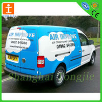 Clear Vehicle PVC Decals,Car wrap