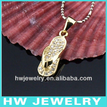 gold plating silver pendant