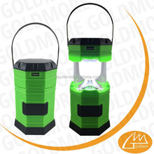 Best solar camping lanterns with mobile phone charger, rechargeable camping lights, 6 led telescopic tent light