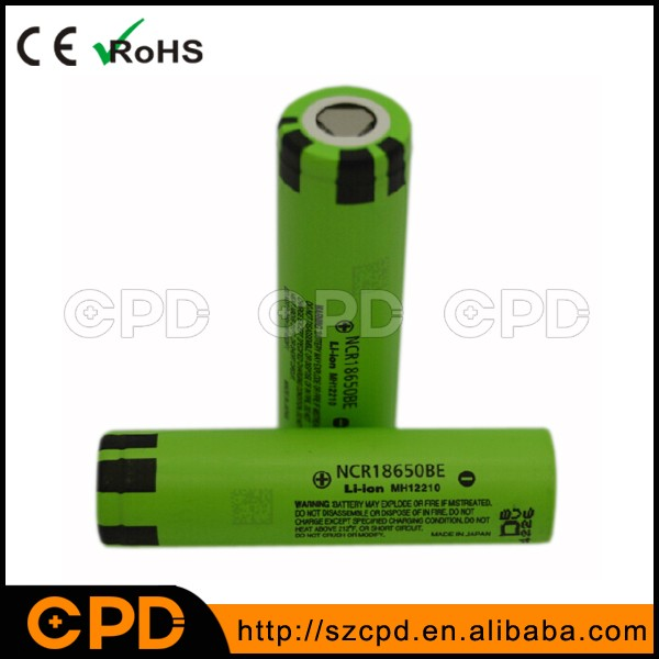 OEM/ODM for P anasonic NCR18650BE 3200mAh 3.7V Rechargeable Li-ion Battery Cell for Acer Laptop