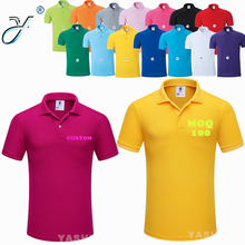 Multi-color Dry Fit Golf Polo T shirts Pique Polo Uniform Wholesale