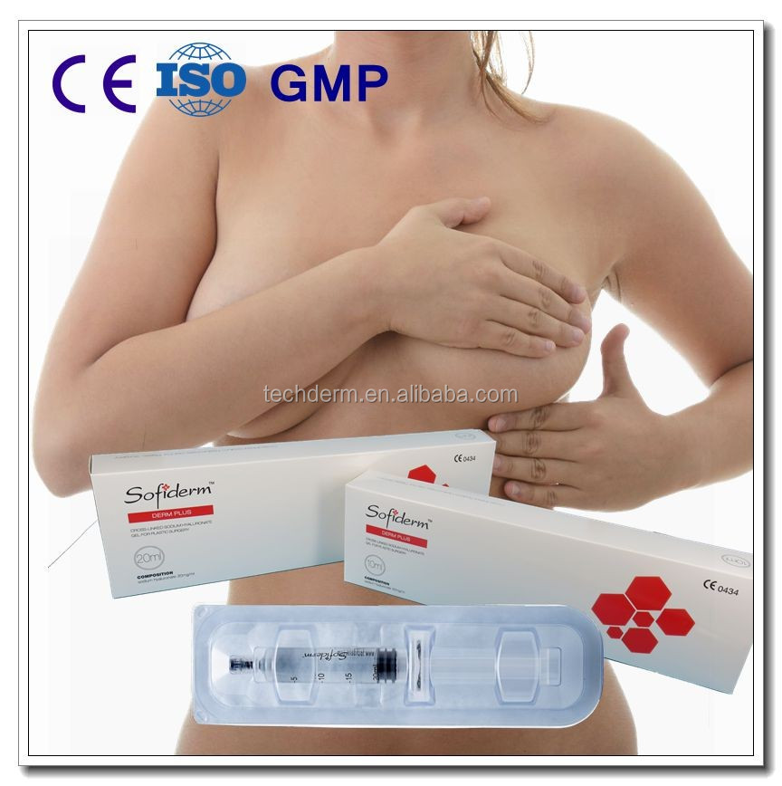 Breast augmentation,Buttock implants,Hyaluronic acid filler with CE(Derm Sub-Skin 20ml)