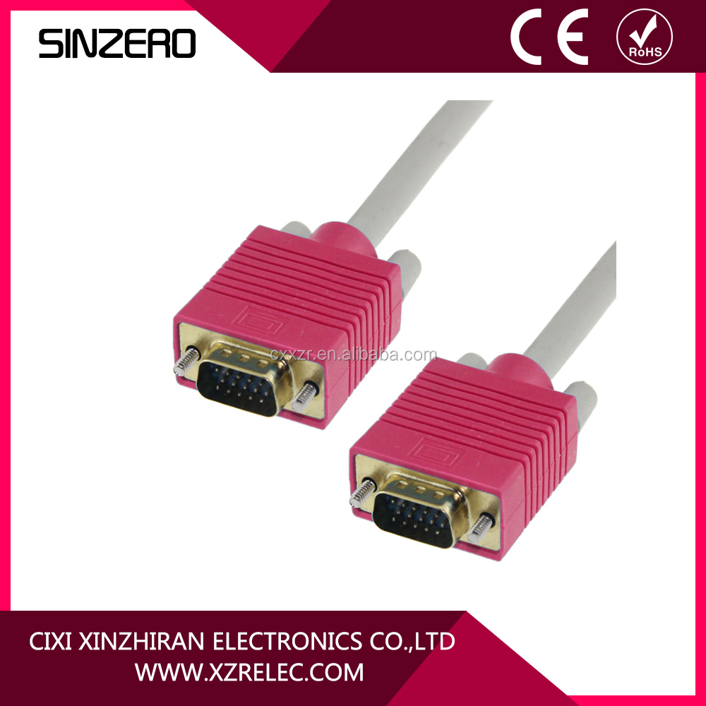 2016 New Version High Quality VGA Cable male to male vga cable ps2