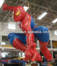 2013 the most popular inflatable spiderman for promotional
