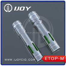 Ijoy DIY mechanical mod Etop-M electronic cigarrete starter kit ecigator ehookah
