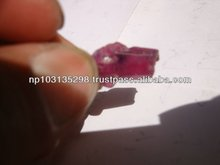 natural rough ruby