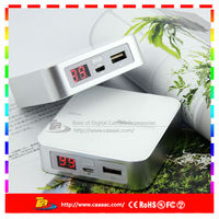 Silver design high capacity 6600mAh power bank mifi hotspot