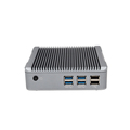 embedded desktops mini pc dual nic X5300m intel i3 4010u 1.7GHz 4GB memory 500GB Storage