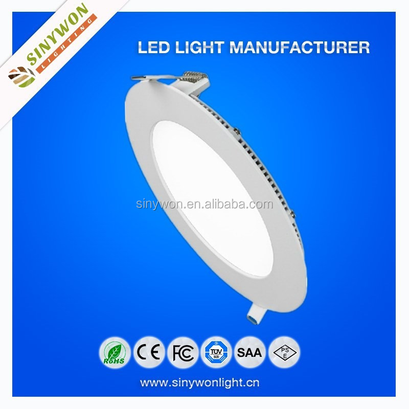 2015 SYW bottom price !! Recessed/ceiling mounted/suspended 7w dimmable led round panel light