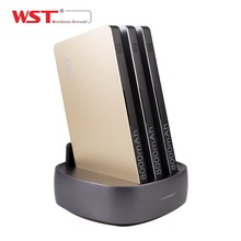 Multi Port Charger 3 USB built-in cable charging dock station