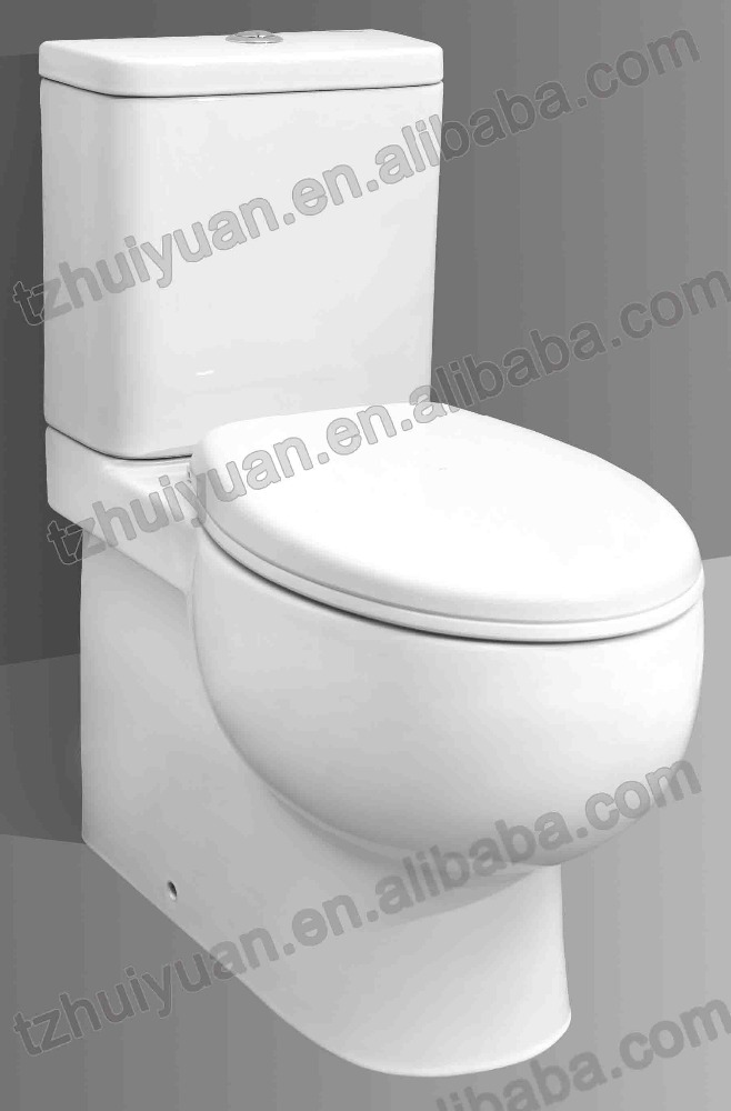 Sanitary Ware Two Piece P-Trap washdown Toilet