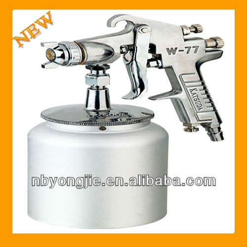 Painting Viscosity Coating And Glue W-77S 3.5Bar 1000ml Adhesive Spraying Paint Gun