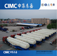 CIMC 60 Ton 50 CBM Bulk Cement Silo Truck For Sale