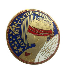High quality Best selling custom coin challenge coins nypd