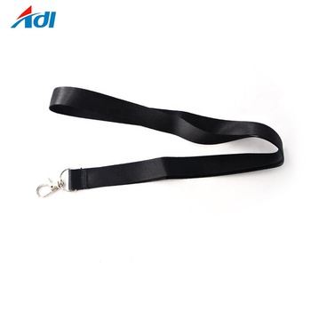 Manufacture custom sublimation printed polyester id card lanyards