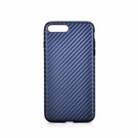2016 New Hot Selling 4 Colors Available Carbon Fiber Pattern TPU Case for iPhone 8 Plus